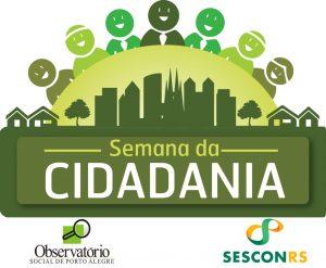 Semana da cidadania logomarca Sescon