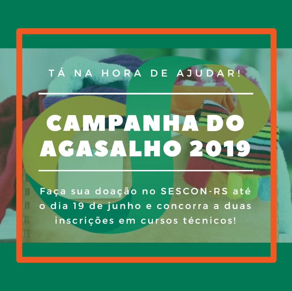 campanha agasalho 2019